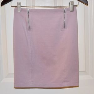Sunday Best Lilac Bandage Skirt With Zippers